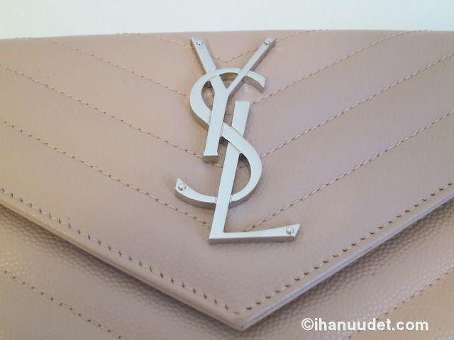 Saint Laurent Monogram Rose Wallet10.JPG