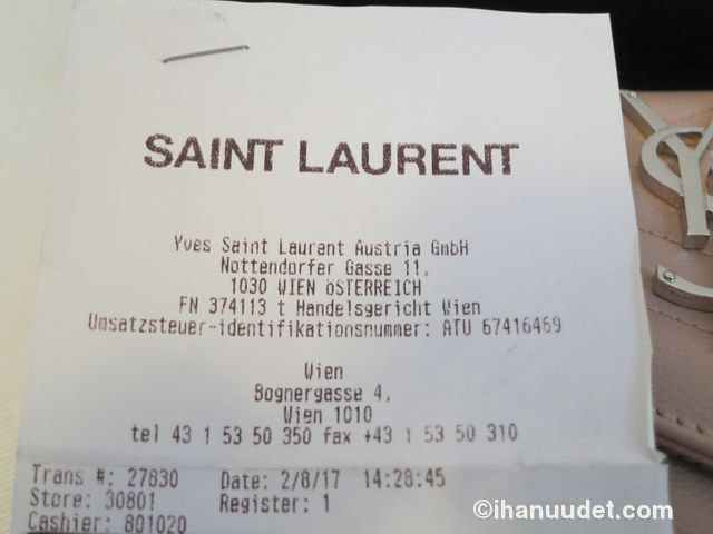 Saint Laurent Monogram Rose Wallet18.JPG